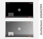 video player interface template ...