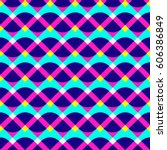 abstract geometric pattern.... | Shutterstock .eps vector #606386849