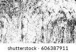 grunge black and white urban... | Shutterstock .eps vector #606387911