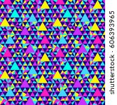 abstract geometric pattern.... | Shutterstock .eps vector #606393965