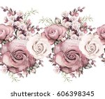 isolated seamless pattern... | Shutterstock . vector #606398345