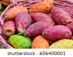 Colored Prickly Pear In A...
