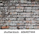 ancient brick wall texture | Shutterstock . vector #606407444