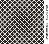 weave seamless pattern. stylish ... | Shutterstock .eps vector #606411905