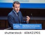 paris  france   march 22  2017  ...   Shutterstock . vector #606421901