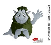 Small Kind Forest Troll Of Gra...