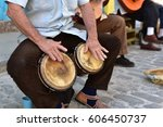 Street Musicians Perform For...