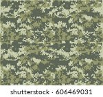 texture military camouflage... | Shutterstock .eps vector #606469031
