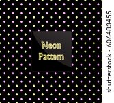 pattern rhomb | Shutterstock .eps vector #606483455