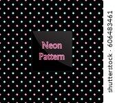 pattern rhomb | Shutterstock .eps vector #606483461