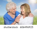 laugh once more the sun seems | Shutterstock . vector #606496925