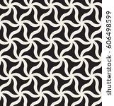 vector seamless pattern. modern ... | Shutterstock .eps vector #606498599