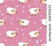 Baby Seamless Pattern Cute...