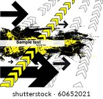 contemporary art abstract... | Shutterstock .eps vector #60652021