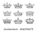 set of stylized images of the...   Shutterstock .eps vector #606550679