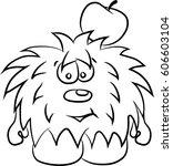 animated hedgehog  separately... | Shutterstock .eps vector #606603104