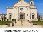 entrance to the queen of the... | Shutterstock . vector #606615977