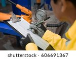 material resistance analysis | Shutterstock . vector #606691367