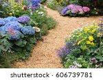 the flower show hong kong at... | Shutterstock . vector #606739781