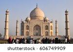 agra  india   mar 10  2012.... | Shutterstock . vector #606749909