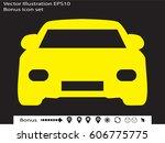 Car Icon  Vector Illustration...