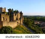 the medieval fortress of... | Shutterstock . vector #60682090