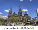 guadalajara  jalisco  mexico   Shutterstock . vector #606826547