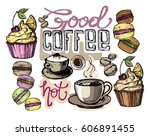 hand drawn doodle illustration... | Shutterstock .eps vector #606891455