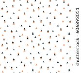abstract seamless pattern with... | Shutterstock .eps vector #606893051
