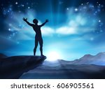 conceptual illustration of a...   Shutterstock .eps vector #606905561