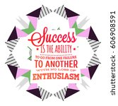 quote typographical poster ... | Shutterstock .eps vector #606908591