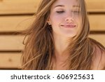 beautiful woman | Shutterstock . vector #606925631