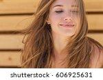 beautiful woman | Shutterstock . vector #606925631