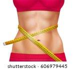 female athletic waistline 3d...   Shutterstock .eps vector #606979445