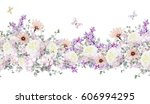 isolated seamless pattern... | Shutterstock . vector #606994295