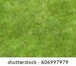 texture green lawn grass | Shutterstock . vector #606997979
