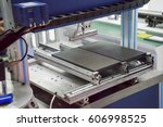 led screen production lines | Shutterstock . vector #606998525