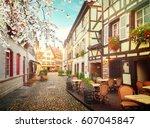 Street Of Petit France Medieval ...