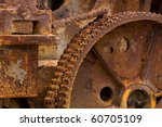 rusted engine background | Shutterstock . vector #60705109