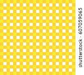 yellow white pattern stripes | Shutterstock .eps vector #607059065
