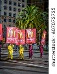 san francisco  california  ... | Shutterstock . vector #607073735