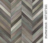 seamless wood parquet texture ... | Shutterstock . vector #607107161