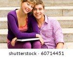 happy students | Shutterstock . vector #60714451