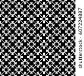 vector monochrome texture.... | Shutterstock .eps vector #607224887