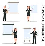 business character design. | Shutterstock .eps vector #607232489