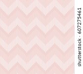 seamless geometric pattern in... | Shutterstock .eps vector #607275461