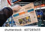 paris  france   mar 23  2017 ... | Shutterstock . vector #607285655