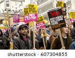 london  united kingdom   march... | Shutterstock . vector #607304855