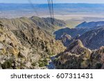 view from the palm springs...   Shutterstock . vector #607311431
