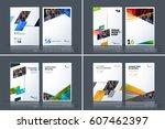 business vector template.... | Shutterstock .eps vector #607462397